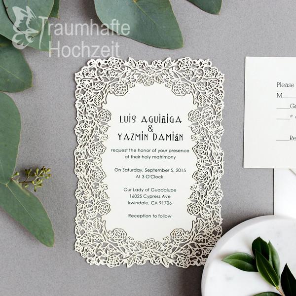 elegant-floral-lasercut-Hochzeit-Karten