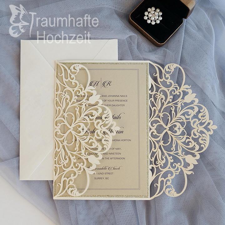 elegant-lasercut-schlicht-Hochzeiteinladungen