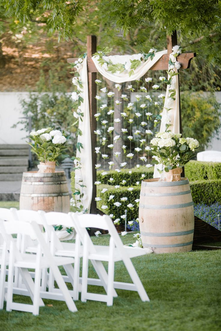 elegant-rustic-backyard-wedding-arbor-ideas